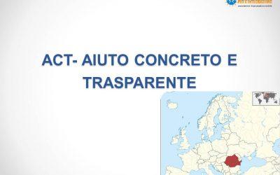 ACT – Aiuto concreto e trasparente