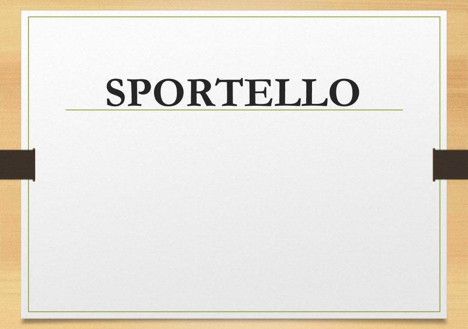 Sportello