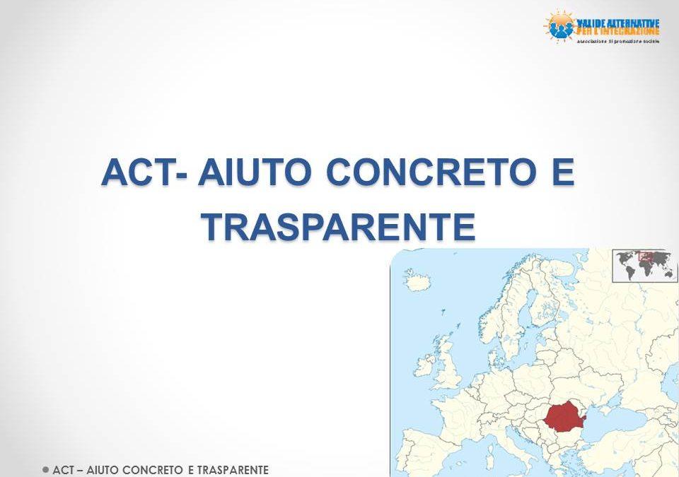 ACT- Aiuto concreto e trasparente